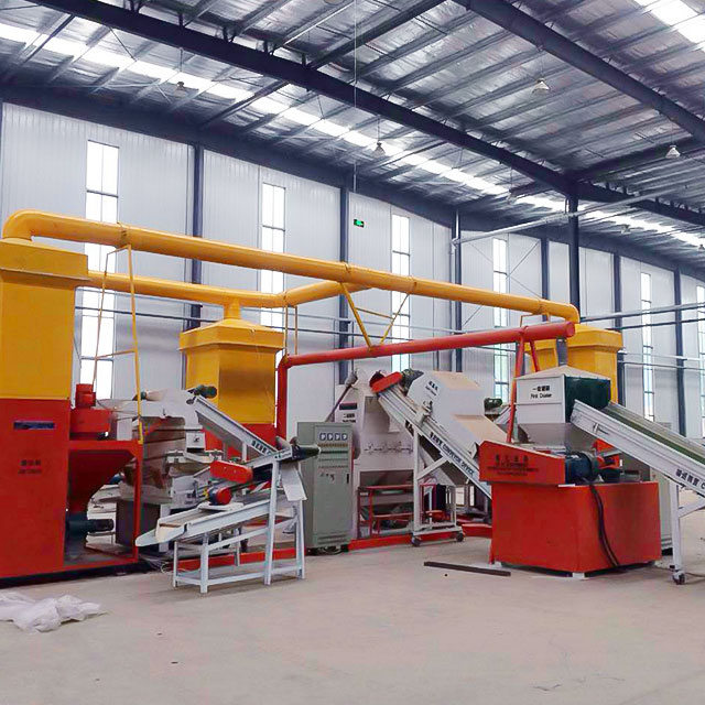 Energy Saving Waste Air Conditioner Radiator Recycling Machine