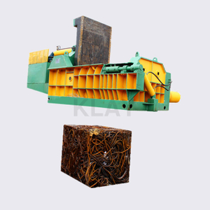 Horizontal Triple Compression Scrap Copper Wire Baler Machine